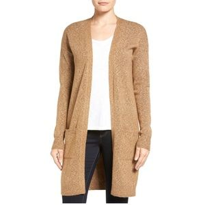 HALOGEN long knit cardigan